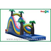 Quality Backyard Small Inflatable Bouncer Slide for sale