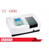 Buy UV - Vis Scanning Spectrophotometer UV1800 LCD Graphic Screen Medical Laboratory at wholesale prices