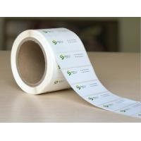 Quality OEM Color Logo Glossy Sticker Labels Waterproof With Sheet / Roll Shape for sale