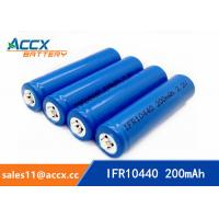 Quality IFR10440 3.2V AAA size lifepo lithium rechargeable battery for sale