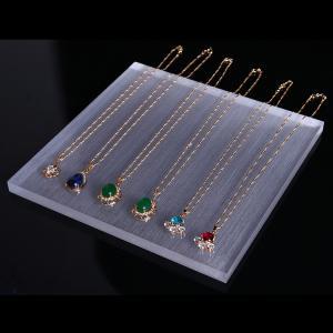 China Good Brightness Acrylic Display Holders , Acrylic Display Blocks 3-5mm Thickness on sale