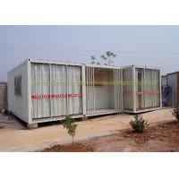 China 20Ft / 40Ft Container House Folding Container Homes Cold Formed Steel Profile on sale