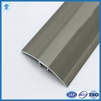Buy Gold and Champage Anodized Color Aluminum Extrusion Profiles for Flooring at wholesale prices