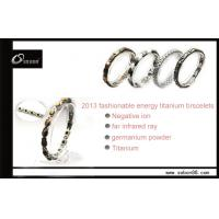 Quality Fashion ion wristband magnetic titanium bracelets at factory price GT-054 for sale