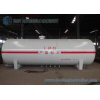 China Round / Ellipse Safety LPG Tank Trailer 25000L Horizontal Bulk on sale
