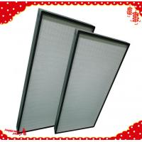 China 1220x610x90mm air handling unit system hood hepa filter h13 h14 / best air filter for home on sale