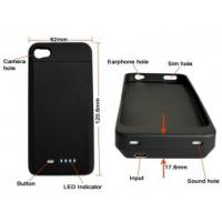 Quality 1700Mah Capacity IPhone 4 Extender Battery Case With Short Circuit Protection For IPhone 4 for sale
