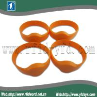 Quality 125KHz Silicone RFID Wristband Tag  Suitable for High Humidity Environment for sale