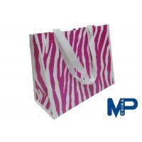 Quality Heat Transfer Printing Waterproof Biodegradable Non Woven Polypropylene Bags for sale