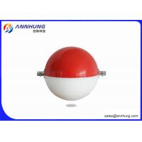 Quality 600mm yellow red white Aircraft Warning Sphere for transmission line for sale