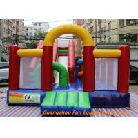 Quality Water Proof and Fire Resistance Plato PVC Tarpaulin Inflatable Bouncy Castle for sale