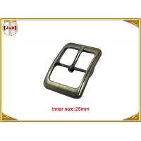 Quality Fashion Silver Plated Custom Zinc Alloy Metal Pin Belt Buckle / Tri Glide Buckle for sale