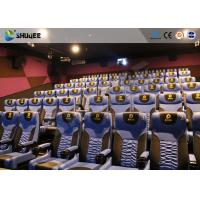 Quality Business Centre 4D Movie Theater Electric Motion Rider Equipment 80 Seats for sale