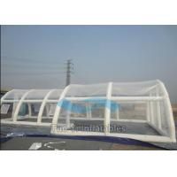 Quality Customized Clear Bubble Tent Night Inflatable Rain Cover / Pool Covers Tent for sale