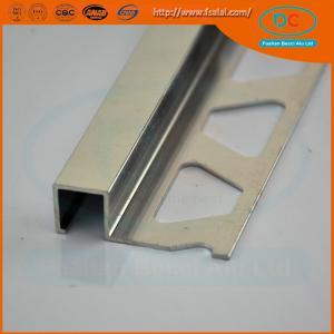 Quality Aluminum tile trim ,6063 aluminum extrusion for sale