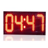 Quality High Brightness Large Stopwatch Clock With Hanging Brackets CE / ROHS Approved for sale
