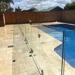 Spigots glass railing frameless glass spigot glass clamp railing for pool fence