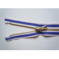 Buy #15 Canvas zipper , Metal Teeth Zipper with Golden & Silver Pull zipper bag at wholesale prices