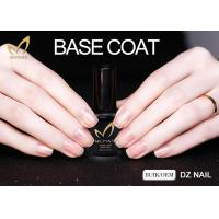 Quality Easy Soak Off Gel Nail Base Coat , Peel Off Base Coat Nail Polish Resin Material for sale
