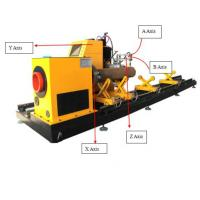 Quality High Speed 8 Axis CNC Steel Pipe Cutting bevelling Machines for all Profiles for sale