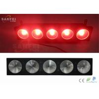 Quality 3 In 1 Rgb Cob LED Matrix Lights , 5 Eyes 30 w Stage Blinder Light for sale