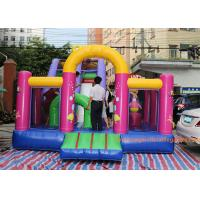 Quality 7*4*5 M Inflatable Jumping House Customized size / color  With Slide for children for sale