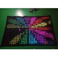 China High Brightness P8 Flexible LED Curtain 7 Channel Dmx Controller For Background on sale