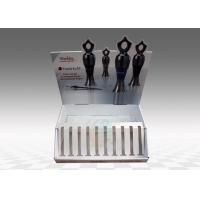 Quality Eye-lash Cosmetic Customize Cardboard Counter Display in Fashion Design for sale