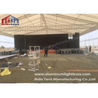 China 400 x 400mm Portable Stage Truss / Aluminum Spigot Truss For Event on sale