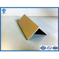 Quality Hot sale high quality factory supply sliver anodized angle aluminum for sale