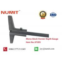 Quality ISO Certifide Instruments Mono-Block Vernier Depth Gauges , Thickness Gauge Tool for sale