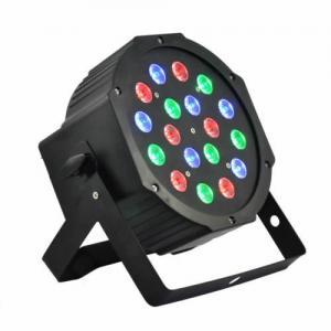Buy LED PAR Light 18X1w RGB Plastic LED PAR Can at wholesale prices