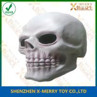 China X-MERRY Death Skeleton Skull Latex Overhead Horror Face Mask Halloween Fancy Dress on sale