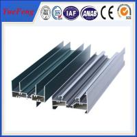 Quality aluminium frame sliding glass window extrusion profiles from china larger factory for sale