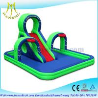 Quality Hansel swimming pool slides,commercial grade inflatable water slide,bouncer for sale