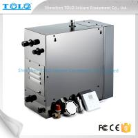 Quality 4.5kw 240v Auto Drain Steam Room Steam Generator With Iphone Wireless Control for sale