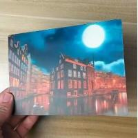 Quality China Factory Wholesale Good Quality Custom Offset Printing Plastic PET Lenticular 3D lenticular card for sale