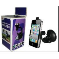Quality Black Car Mobile Phone Holders Can 360 Degree Rotating Support Holder for sale