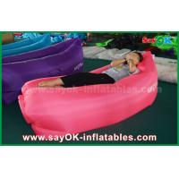 Quality Light Weight Waterproof Inflatable Sleeping Air Bag With Pockets for sale
