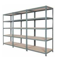 Quality 5 Tiers Metal Long Span Bulk Storage Shelving For Pharmacy Industry for sale