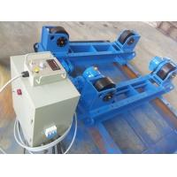 Quality Shot Blasting 60T Pipe Turning Rollers , Pipe Rotators For Welding 100v - 600v Voltage for sale