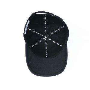 Quality Custom design your own brand ACE inner tape printing black 6panel  baseball caps hats for sale