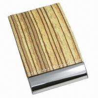Quality Vertical Cortex Business Card Cases, Made of Stainless Steel for sale