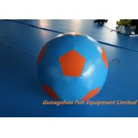 Quality Durable PVC Football Soccer Ball Inflatable Sport Games 80cm Diameter for sale
