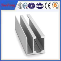 Quality 6061/6063 aluminium extrusion profile factory in China,for glass aluminium sliding channel for sale