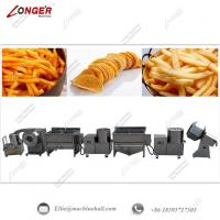 Quality Automatic French Fries Making Machine|Commercial Frozen French Processing Line|French Fries Production Line for sale