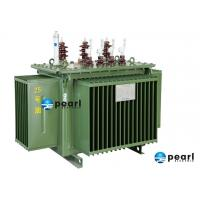Quality Pole mounted ONAN / Oil Immersed Distribution Transformer / Auxiliary Transformer for sale