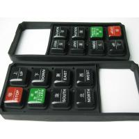 Quality Long Life Tactile Epoxy Silicone Rubber Keypad / Conductive Rubber Keypads for sale