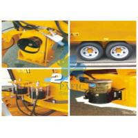 Quality Tulip Yellow Cattle Feed Mixing Machine , Small Feed Grinder Mixer For Dairy Farm for sale