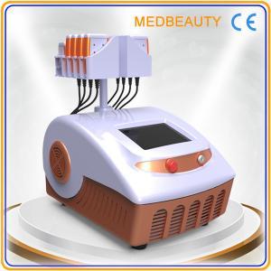 China Double Wavelength 650nm 980nm Lipo Laser Slimming Machine Lumislim Japan Mitsubishi on sale